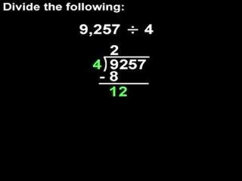 Long Division - MathHelp.com - Math Help