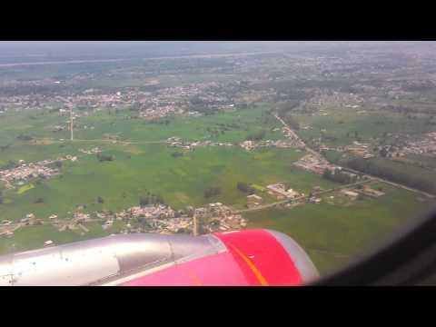 New Delhi - Jammu Flight  Air India AI821 over Jammu!