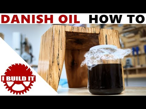 How To Make And Use Danish Oil
