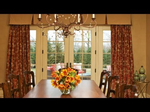Window Treatments for French Doors | Interior Design
