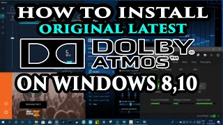 🔊Dolby Atmos 2019 for Windows 10 || Update sound effects: Deep bass