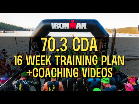 Ironman 70.3 CDA Training Plan with Dave Erickson, Wendy Mader