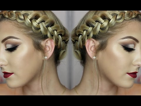 How to: DUTCH BRAID Your Own Hair | Glamnanne