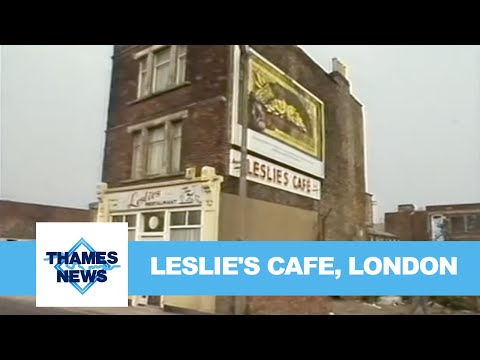 Leslie's Cafe, London   Thames News