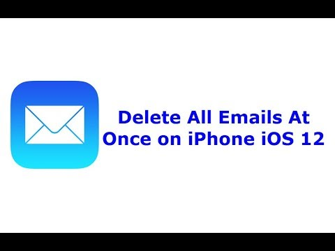 How to Delete All Emails on iPhone IOS 12 At Once