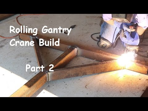 Rolling Gantry Crane Build - Part 2