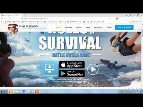 how to download rules of survival(ros) pc\mac + gameplay proof