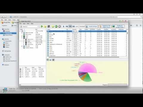 How To See Folder Sizes In Windows 7 & Vista.wmv