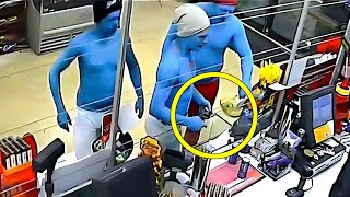 Ingenious Thefts That Were Caught On Camera...