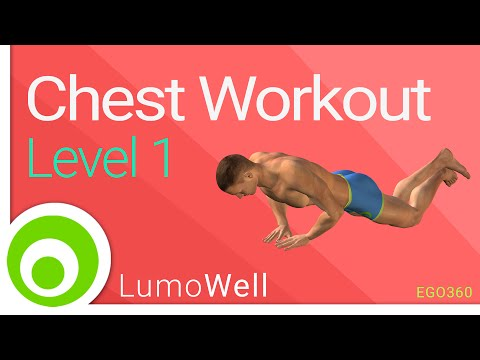 Chest Workout at Home Without Equipment (Push Up Workout).