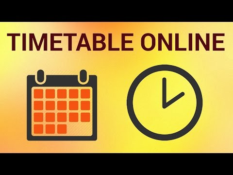 How to Make a Schedule and Timetable Online
