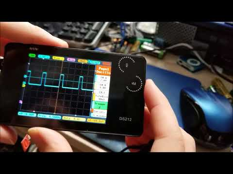 Banggood DS212 2 Channel Pocket Oscilloscope Review!