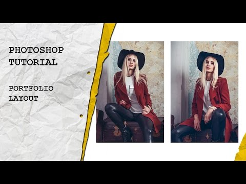 Photoshop Tutorial: Create a Portfolio Layout