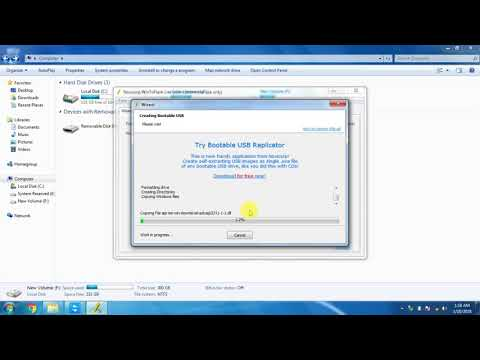 how to convert bootable pendrive using software