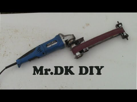 Making a Power File Belt Sander / DIY 2018 / Version 2