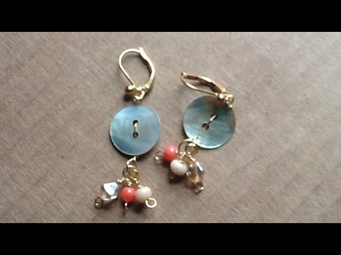 Create Sweet Drop Button Earrings - DIY Style - Guidecentral