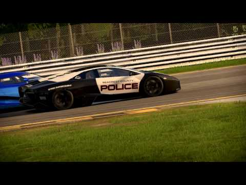 Lamborghini Reventón from NFS Hot Pursuit in Shift 2 Unleashed