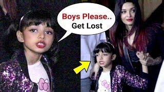 Aishwarya Rai Daughter Aaradhya Bachchan Throws Tantrums On Media At School Annual Day