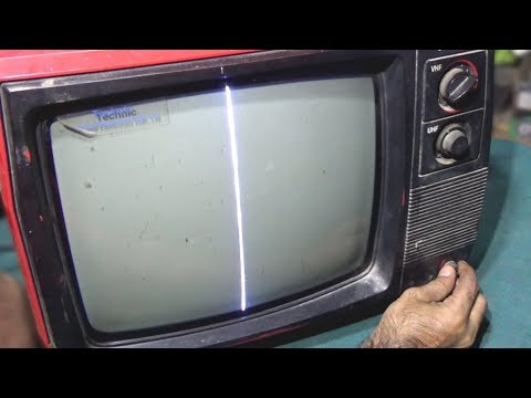 How To Repair Vertical Problem Of Black And White Television (Part 5) - Bengali Tutorial