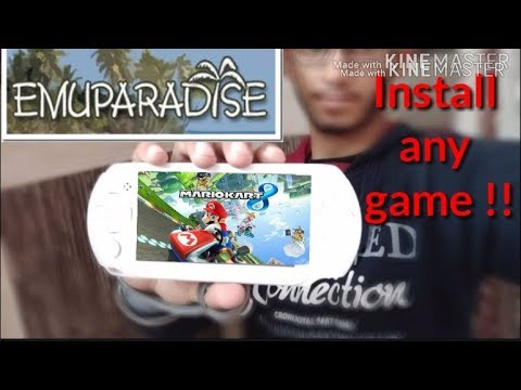 How to Download and Install PSP ISO's/ROMs from EMUPARADISE
