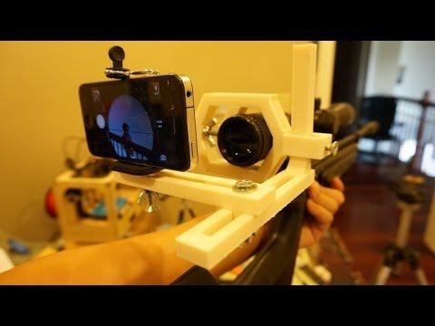 3D Printed Scope Cam Mount