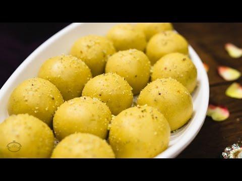 Besan ke Ladoo Recipe   Traditional Indian Sweet Recipe for Festivals