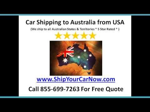 Car Shipping To Australia - Importing Cars