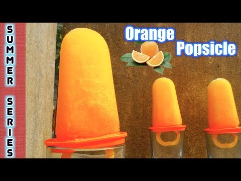 Orange Popsicle - Summer Series - Cool & Tasty