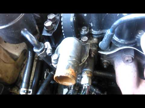 Flushing Dirty Radiator Out Of The Turbo Scoupe - Ricer Accent