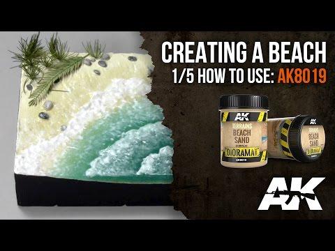 How to: AK8019 || BEACH TERRAIN, PART 1/5: Beach sand