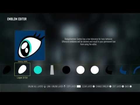 My Little Pony Emblem tutorial-Princess Luna eye: Call Of Duty Advanced Warfare