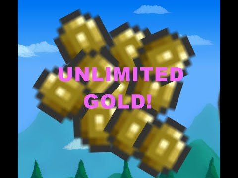 How To Get Unlimited Gold In Terraria With No Cheats Or Any Glitch! Really Easy!