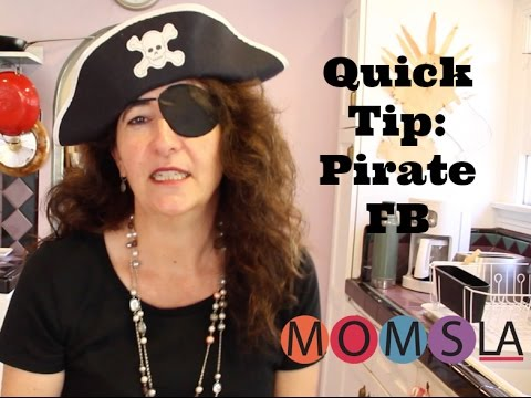 Change Your Facebook to Pirate For the Day