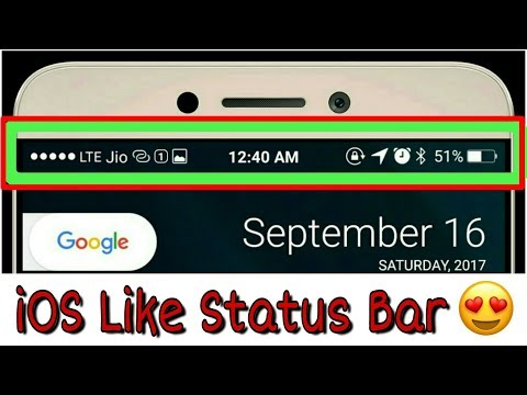 [Root][Xposed] How To Get Exactly iOS Like Status Bar on Any Android Smartphone | FSBI Setup