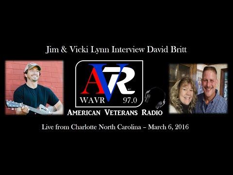 American Veterans Radio Interviews David Britt from Charlotte, North Carolina March 6, 2016