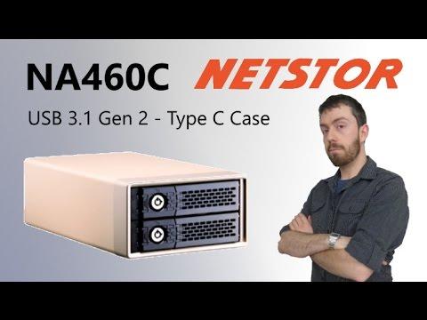 The NA460C2-Bay USB3.1, Type-C External RAID Storage Walkthrough and Talkthrough