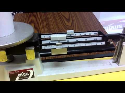 How to Find Mass Using a Triple-Beam Balance