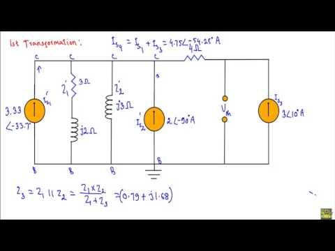 AC Example : Maximum Average Power Transfer Theorem