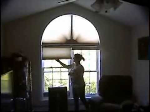 Arched window shade.wmv