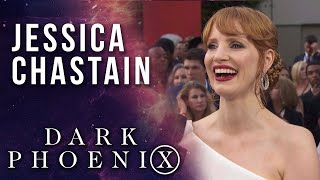 Jessica Chastain on joining the X-Men universe LIVE from X-Men: Dark Phoenix Premiere