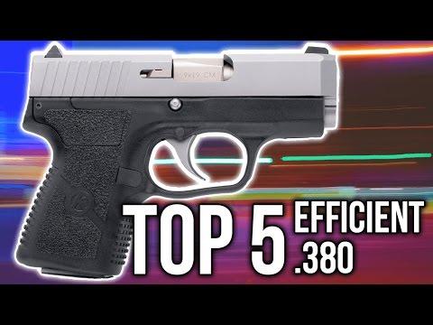 Top 5 Most EFFICIENT .380 Pistols (4K UHD)