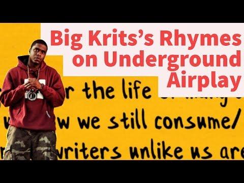Rap Tips from Big Krit's Underground Airplay - Rhyme Schemes Analysis