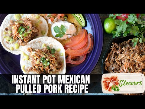 Instant Pot Mexican Pulled Pork Recipe