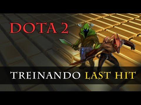 Dota 2 - Treinando Last Hit (Last Hiting)