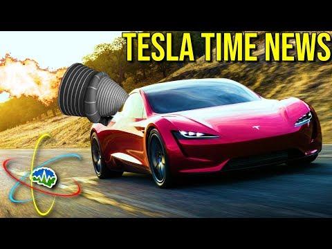Tesla Time News - Rocket Roadster!