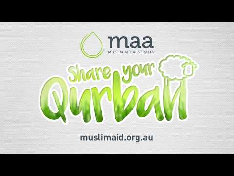 It is time to Share Your Qurban with MAA