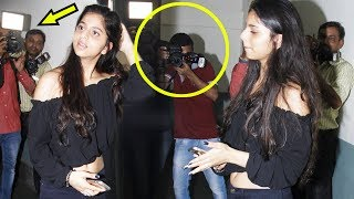 Suhana Khan Gets ANGRY On Photographers Like Never Before At Tubelight Screening