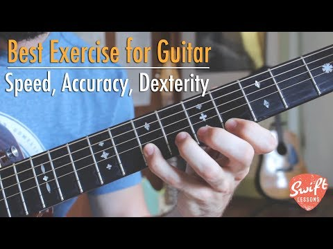Guitar Exercise for Speed, Accuracy, and Dexterity - Major Scale in 3rds Warmup