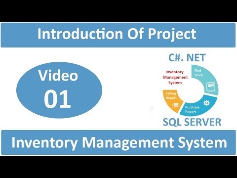 Introduction Of How To Create Inventory Management System in C#