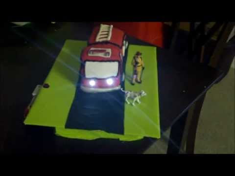 FIRE TRUCK TOY CAKE REVIEW